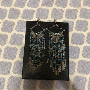 🤩💫🤩 3/$15 blue raindrop earrings